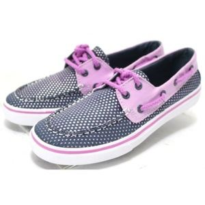 Sperry Top-Sider Bahama Youth Girl Boat Shoes Sz 3